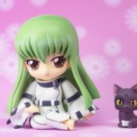 "Bandai Tamashii Nations C.C. ""Code Geass"" Chibi-Arts Action Figure"