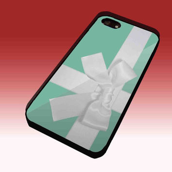 Tiffany mint Box with Bow Design Hard Plastic Case For iPhone 4/4S, iPhone 5, Samsung Galaxy S3 i9300, Samsung Galaxy S4 i9500