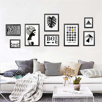 Shop abstract art posters on wanelo for Cadre photo mural ikea