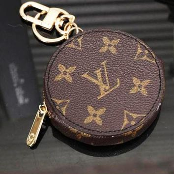 Louis Vuitton Fashion Trending Leather Key Pouch Car Key Wallet G