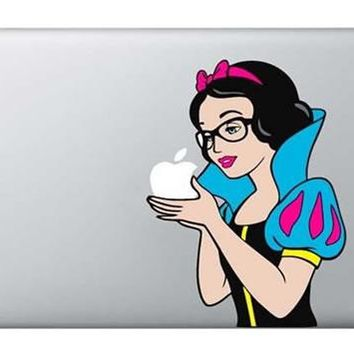 20 Kinds of Personality Patterns: Partial Vinyl Decal Minions Snow White Pics Laptop Skin Sticker Cover For All Macbooks