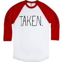 Taken Girlfriend/Boyfriend Shirt-Unisex White/Red T-Shirt