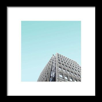Urban Architecture - Tottenham Court Road, London, United Kingdom - Framed Print