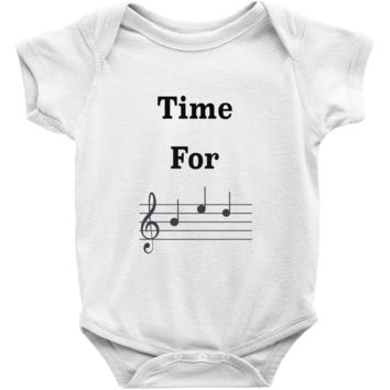 Music baby clothes