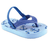 Luvable Friends Printed Flip Flops | Affordable Infant Clothing
