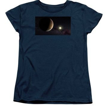 Solar System Watercolor Series No 1a - Women's T-Shirt (Standard Fit)