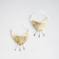 Desert Textile Earrings