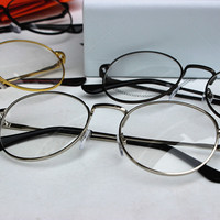 Metal Unisex Glasses [11405234703]