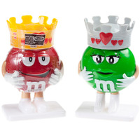 M&M's Minis Candy Filled Valentine Figurines: 12-Piece Display