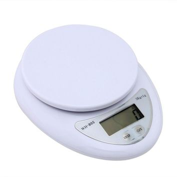 new mini digital lcd electronic scales 1g 5kg home kitchen pharmacy weight balance 95176