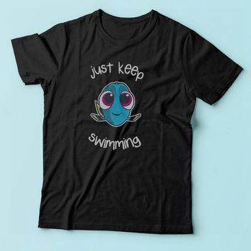 Just Keep Swimming Funny Dory Men'S T Shirt