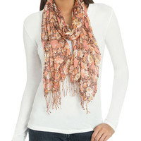Romantic Grunge Floral Scarf | Shop Accessories at Wet Seal