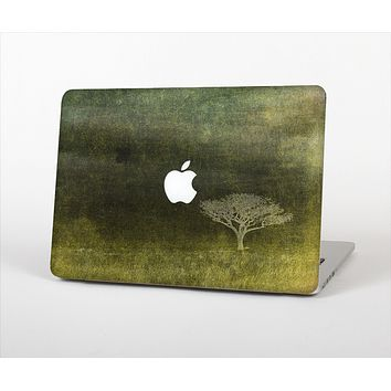 """The Deep Green Tree Pastel Painting Skin Set for the Apple MacBook Pro 15"""" with Retina Display"""