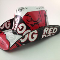 Red Dog Beer Box Stetson Style Hat