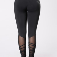 Show It Off Pants - Black