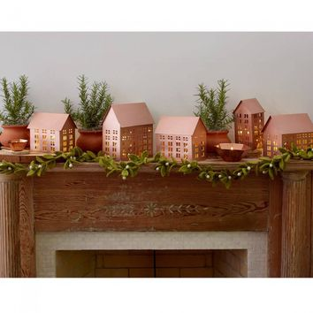 Brushed Copper Abodes - Set of 5
