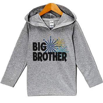 Custom Party Shop Baby Boy's Big Brother New Years Eve Hoodie Pullover