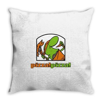 pizza pizza Throw Pillow