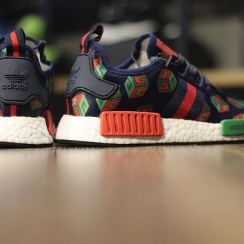 "adidas NMD Custom R_1 ""Gucci"" BA7258 Men Running Sneaker"