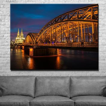 Bridge to Cathedral Canvas Set