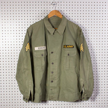 Korean War Reissue WW2 First Pattern Hbt Jacket U.S Army L-XL