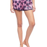 Forever Palms Silk And Lace Short by Juicy Couture
