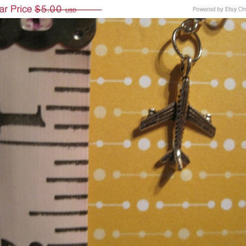 ON SALE Airplane earrings by CommodityOddity on Etsy
