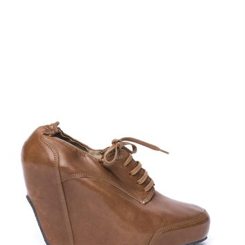 ca spbest Dries Van Noten Leather Wedges