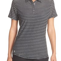 adidas | 'Cottonhand' Perforated Polo | Nordstrom Rack