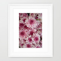 Dead Pink Framed Art Print by RichCaspian | Society6