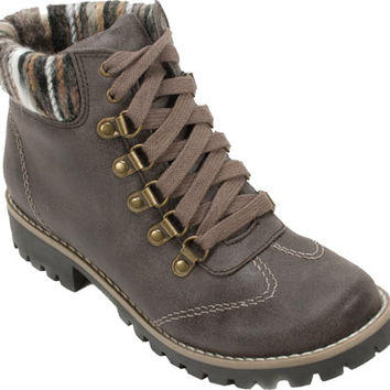 Cliffs by White Mountain Portsmouth Trail Sweater Knit Hiker Boot