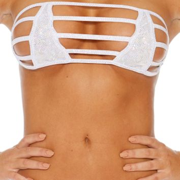 Strappy Bandeau with Nipple Covers