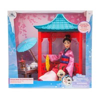 Disney Mulan Little Brother Cri-Kee Tea Ceremony Playset New with Box