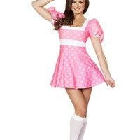 Pretty In Pink Mouse Costume