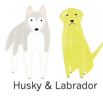Dog Wall Decals (Sold Individually)