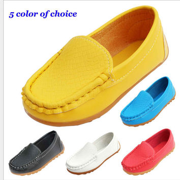 Brand New Children Shoes Kids For Girls Boys Breathable Sneakers Flats With Soft Leather Running ShoesToddler/Little Kid/Big Kid