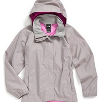 The North Face 'Resolve' Reflective Waterproof Jacket (Big Girls) | Nordstrom