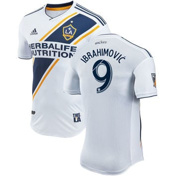 Zlatan Ibrahimovic #9 LA Galaxy 2018/2019 Home Player Jersey – White