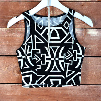 Aztec Wonder Crop Top