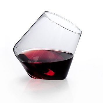Cupa-Vino Set of 2 Wine Glasses