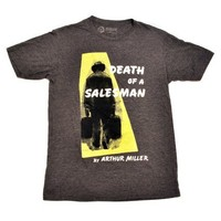 Death of a Salesman book cover t-shirt