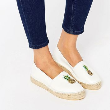 ASOS JELLY BEAN Pineapple Espadrilles