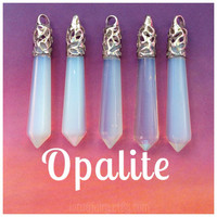 Large Opalite crystal point