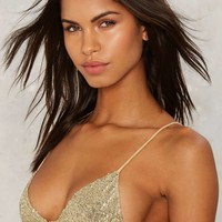 Lolli Cirque Sequin Bra Top