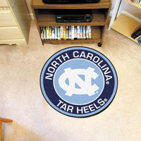 UNC University of North Carolina - Chapel Hill Roundel Mat