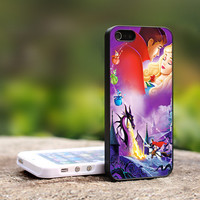 Sleeping Beauty - Walt Disney - Characters Print on Hard Cover For iPhone 4/4S Case and iPhone 5 Case (Black, White, Clear Colour Case)