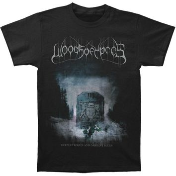 Woods Of Ypres Men's  Woods III: Deepest Roots And Darkest Blues T-shirt Black