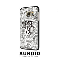 Pierce The Veil Song Lyric Samsung Galaxy S6 Edge Case Auroid