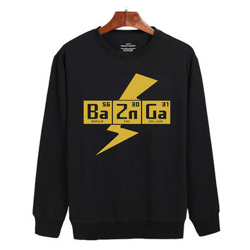 BAZINGA!- The Big Bang Theory Sweater sweatshirt unisex adults size S-2XL