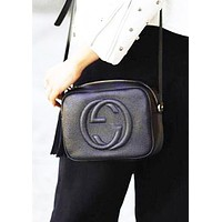 Gucci New Women Crossbody Satchel Tassel Shopping Leather Shoulder Bag